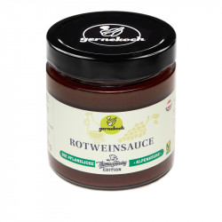 Rotweinsauce 330g (vegan)